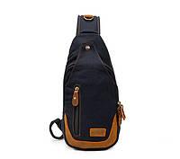 Рюкзак через плечо Augur | черный, фото 1