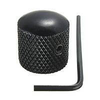 Ручка Потенциометра типа Dome Черная Рифленая для