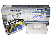 Дополнительные фары противотуманные STRONG LIGHT SL-1558 RY 155x80 55 крышка пара