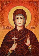 Икона из янтаря Святая Алла