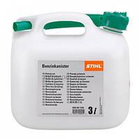 Канистра Stihl для бензина 3 литра прозрачная