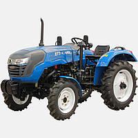 Трактор ДТЗ 4244Н ( 24л.с.,4x4, 3цил., ГУР, розетка,  блокировка)