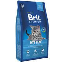 Сухой корм Brit Premium Kitten with Сhicken для котят 8 кг