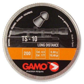 Остроголовые пули для пневматического оружия. Пули Gamo TS-10. Пули 0,68г., 200 шт/уп. , фото 2