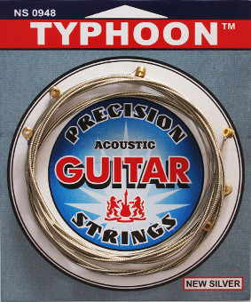 Струны для акустической Гитары Typhoon 0948