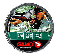 Пули Gamo Expander 0,49 г 250 шт/уп. Пули Gamo. Для пневматического оружия, винтовок, пули 0,49 гр.