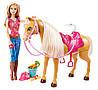 Интерактивный набор Кукла Барби с лошадью и аксессуарами Barbie