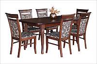 Стол деревянный раскладной для ресторанов/баров/кафе Премьер 160(+40)х90 см (венге, орех)