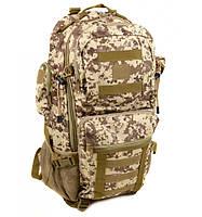 Рюкзак Туристический нейлон Innturt Large A1021-2 camouflage, рюкзак в поход, рюкзак качественный