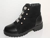 Детская обувь оптом. Детская зимняя обувь бренда LiLin Shoes для девочек (рр. с 33 по 38)