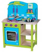 Деревянная кухня для детей Lelin Toys