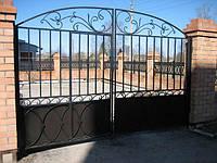Кованые ворота арт.в 9, фото 1