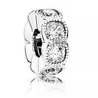 Разделитель «Кушон» из серебра Pandora, 792027CZ
