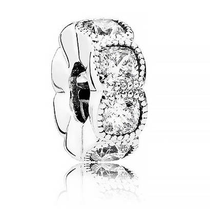 Разделитель «Кушон» из серебра в стиле Pandora