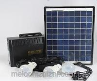 Солнечная аккумуляторная батарея Solar Panel System GDLite GD-8012 (автономное освещение)