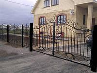 Кованые ворота арт.в 10
