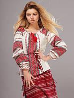 Женская сорочка вышиванка, длинный рукав