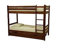 """Деревянная двухъярусная кровать """"Л-302"""""""