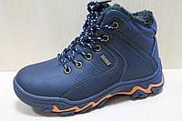 Зимние синие ботинки на мальчика тм Tom.m р.31,34
