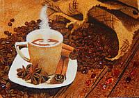 Картина из янтаря Ароматный кофе