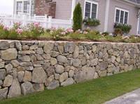 Подпорные стенки (стены) из камня