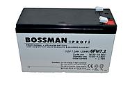 Аккумулятор Bossman 12V 7.2 AH