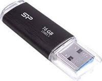 USB 3.1 флешка SiliconPower Blaze B02 16Gb Black ( SP016GBUF3B02V1K )