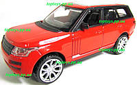 Металлическая моделька Range Land Rover 10 см,1:43