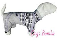 Одежда для собак дождевик на флисе