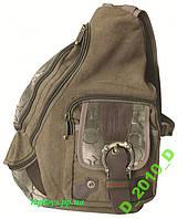 Рюкзак Pilot милитари военный стиль, треугольный через плечо - Акция!