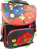 Рюкзак каркасный ортопедический школьный девочки, национальный стиль