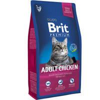 Сухой корм Brit Premium Cat Chicken Adult для котов 8 кг
