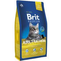 Сухой корм Brit Premium Cat Salmon Adult для котов 1.5 кг.