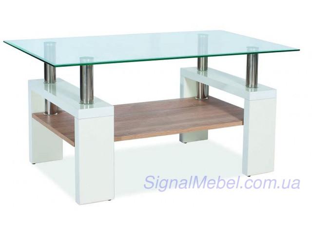 Стеклянный журнальный столик Lisa bis