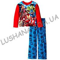 Флисовая пижама Мстители р.4