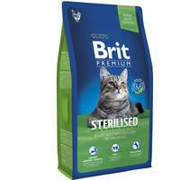 Сухой корм Brit Premium Cat Sterilised для кошек 1.5 кг.