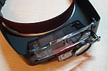 Бинокулярная лупа, с возможностью регулировки подсветки, фото 3
