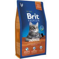 Сухой корм Brit Premium Cat Indoor для котов 8 кг