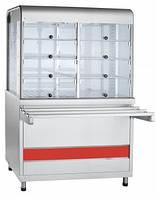 Прилавок-витрина тепловая Abat ПВТ-70КМ