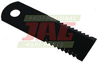 Нож измельчителя 065294 комбайна Claas - подвижный, 173х50х3мм Rasspe