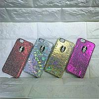 """Iphone 6/6s 4.7 оригинальный кожаный чехол панель бампер накладка НАТУРАЛЬНАЯ КОЖА """" Bulgari """""""