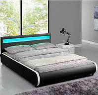 Мягкая кровать SEVI 140х200 см. с LED подсветкой