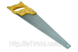 """Ножовка по дереву, деревянная ручка, каленые зубья, 500мм, 7/1"""", 2D"""