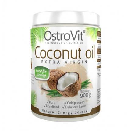 Ostrovit Coconut Oil Extra Virgin нерафінована кокосова олія 900g, фото 2