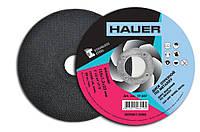 Диск отрезной по металлу, 115х1,0х22, Hauer