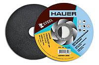 Диск шлифовальный по металлу, 125х6, 0х22, Hauer