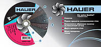 Диск шлифовальный по металлу, 180х6, 0х22, Hauer