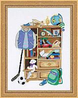 Набор для вышивания крестом «Шкафчик для мальчика» (1372)