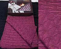 Вязаный теплый мягкий плед в подарочной упаковке украинского производства. Цвета в ассортименте