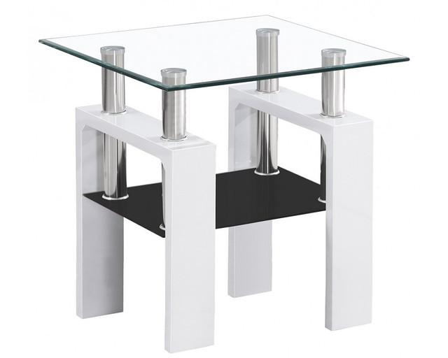 Мебель журнальные столики Lisa D biały lakier